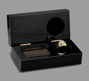 Desktop Award Ring Showcase