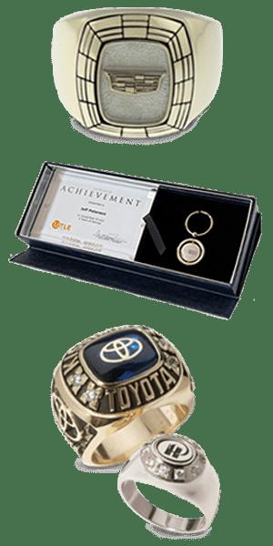 Distinctive Awards for Sales Achievements