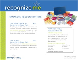 Managers' Recognition Kits