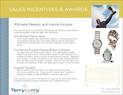 Sales Awards Brochure