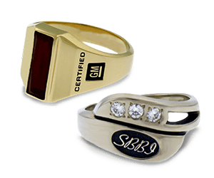 Contemporary Award Rings
