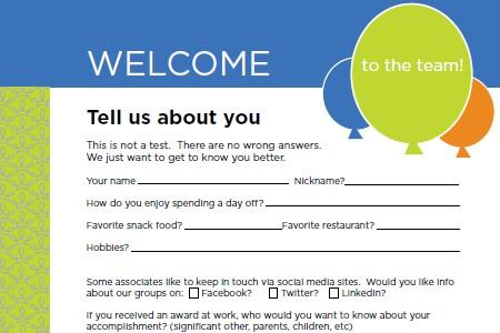 new employee questionaire  Onboarding Questionnaire for New Hires | Terryberry
