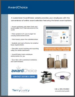 AwardChoice Brochure