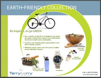Eco Friendly Collection Brochure