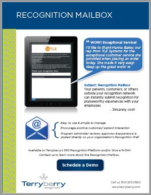 Recognition Mailbox Brochure