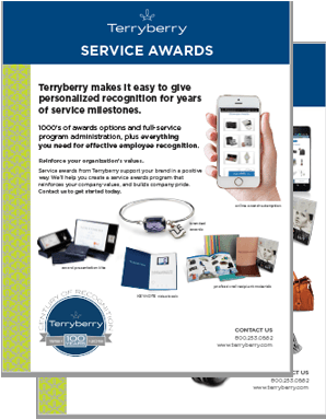 Service Awards Overview Brochure