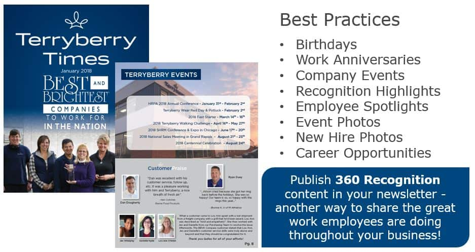Five Best Practices For A Great Company Newsletter  Terryberry