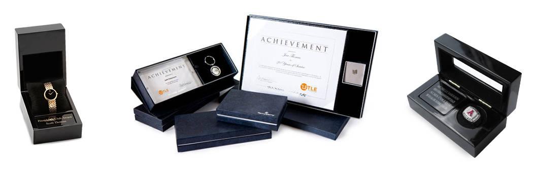 service awards presentation kits