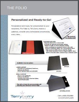 Presentation Folio Brochure