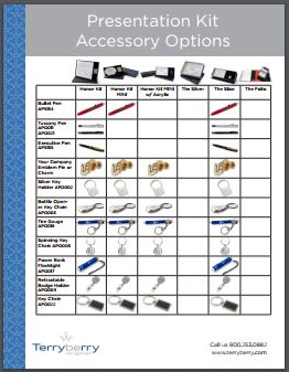 Presentation Kit Accessories Brochure