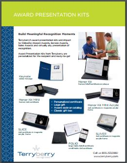 Award Presentation Kits Brochure