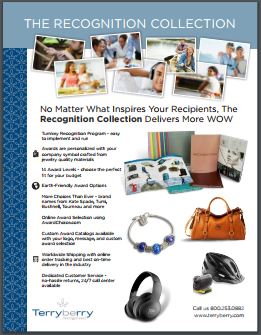 Recognition Collection Overview Brochure