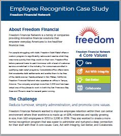 Freedom Financial Case Study