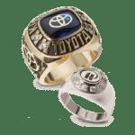 work anniversary rings