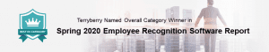 Terryberry Named Market Leader for Employee Recognition Software