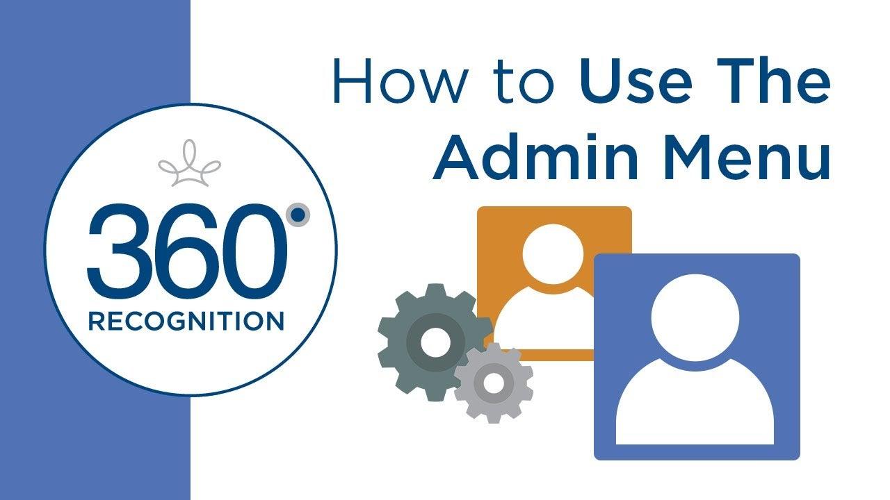 admin menu video cover