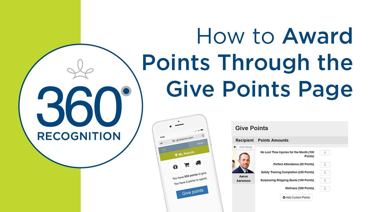 give points video cover