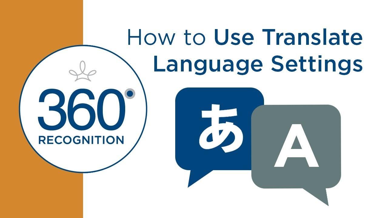 translate language video cover