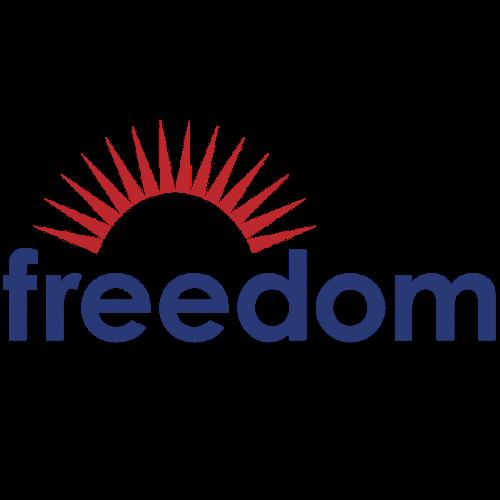 freedom logo square