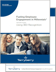 Cover of Fueling Employee Engagement in Millennials Whitepaper