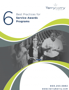 Cover of 6 Best Practices for Service Awards Programs Whitepaper