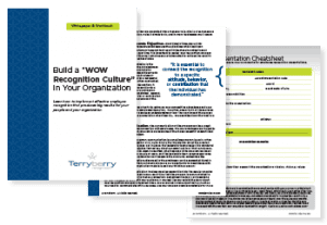 Preview of Build a WOW Recognition Culture In Your Organization Whitepaper